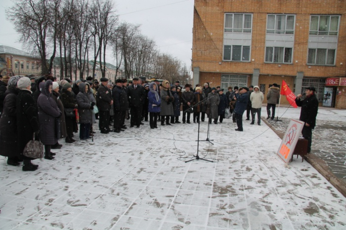 Митинг в Можайске (06.02.2016)