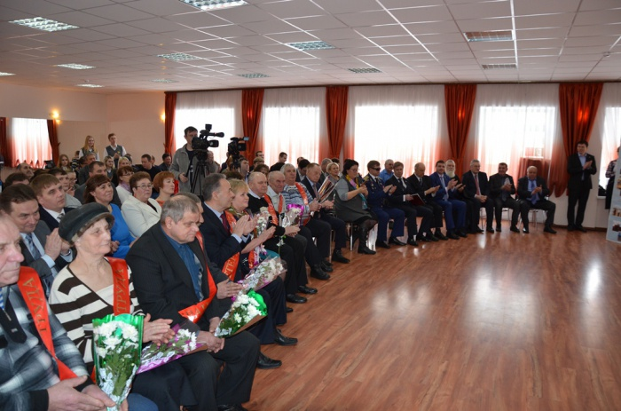 Алексей Русских принял участие в церемонии вручения премий имени Героев Социалистического Труда (03.03.2016)