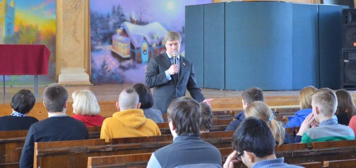 Состоялась рабочая поездка Алексея Русских в Егорьевск (12.03.2016)