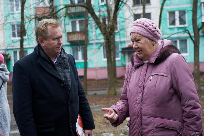 Коммунисты встретились с жителями поселка Ферма Сергиево-Посадского района (07.04.2016)