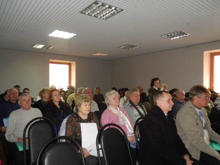 Состоялась отчетно-выборная Конференция Истринского РК КПРФ (09.04.2016)