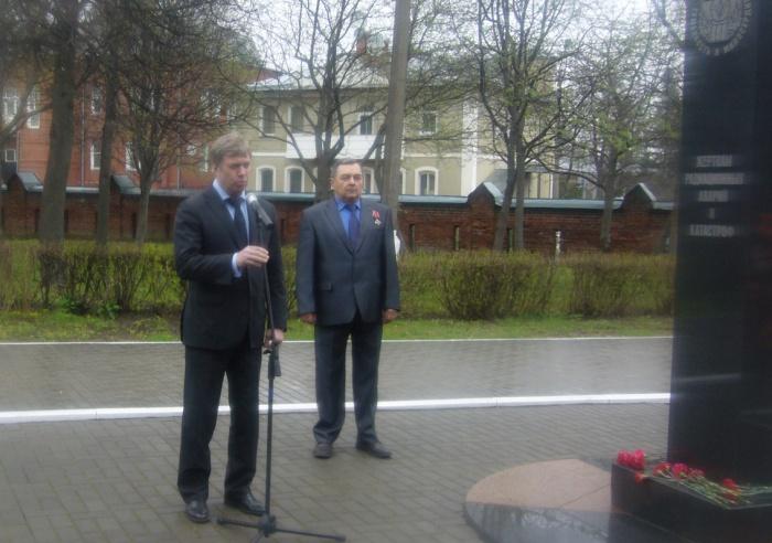 Алексей Русских посетил г. Коломну (26.04.2016)