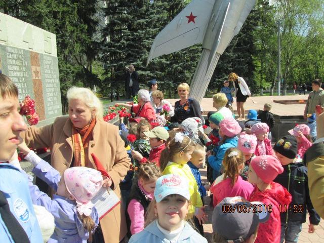 В Щёлково-3 отметили 71-ую годовщину Великой Победы (06.05.2016)
