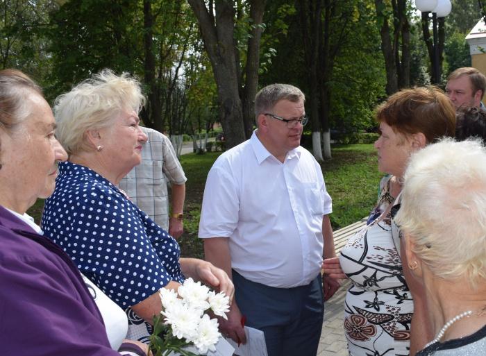 Александр Наумов провел встречи с жителями городского округа Кашира (20.08.2016)