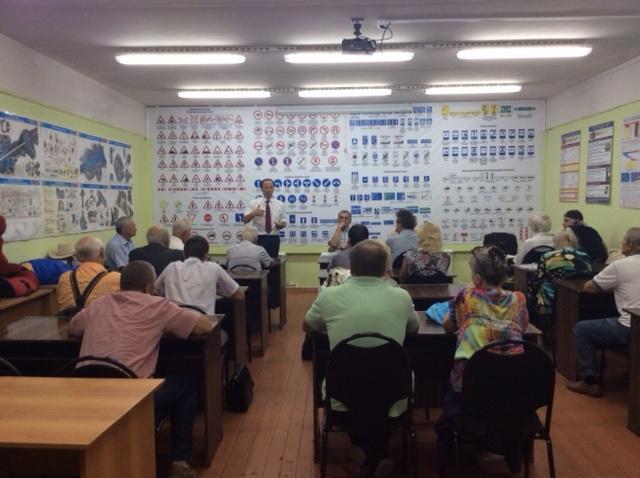 Виталий Федоров и Валентин Куликов встретились с Союзом Коломенских офицеров (24.08.2016)