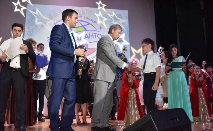 В Снегирях завершился Всероссийский конкурс «Земля талантов» (30.08.2016)