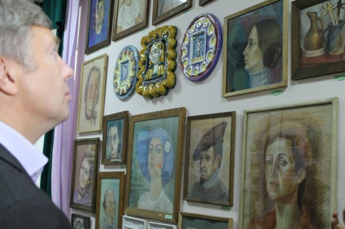 Алексей Русских посетил село Микулино Лотошинского района Московской области (08.09.2016)