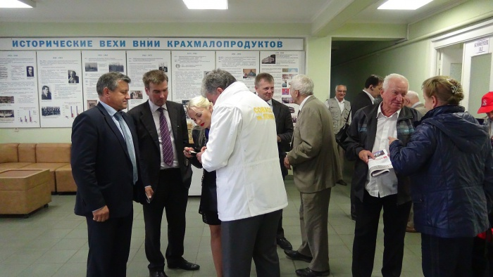 Павел Грудинин встретился с коллективами научно-исследовательских институтов Люберецкого района (09.09.2016)