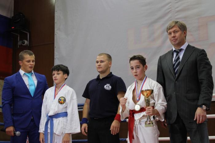 Спортивный турнир по единоборствам «Шаг в будущее» прошел в Красногорске (14.09.2016)