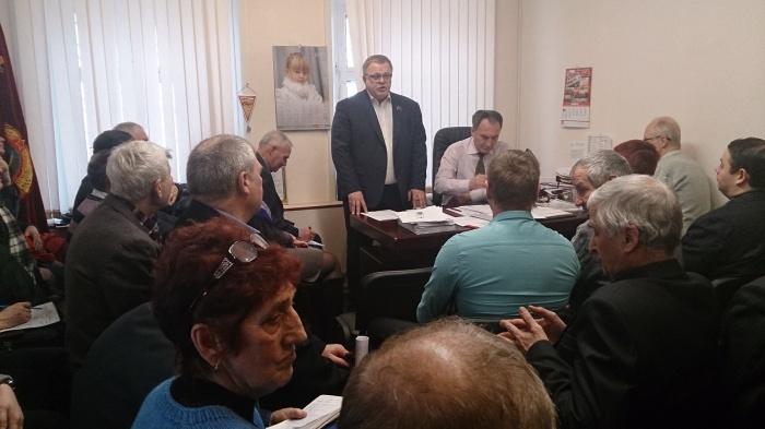 Совещание первых секретарей областных парторганизаций (03.12.2016)