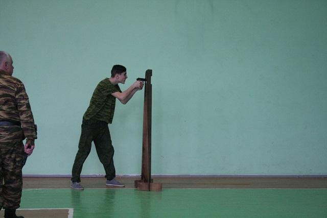 Соревнования по стрельбе «Ворошиловский стрелок» прошли в Воскресенском районе (04.03.2017)
