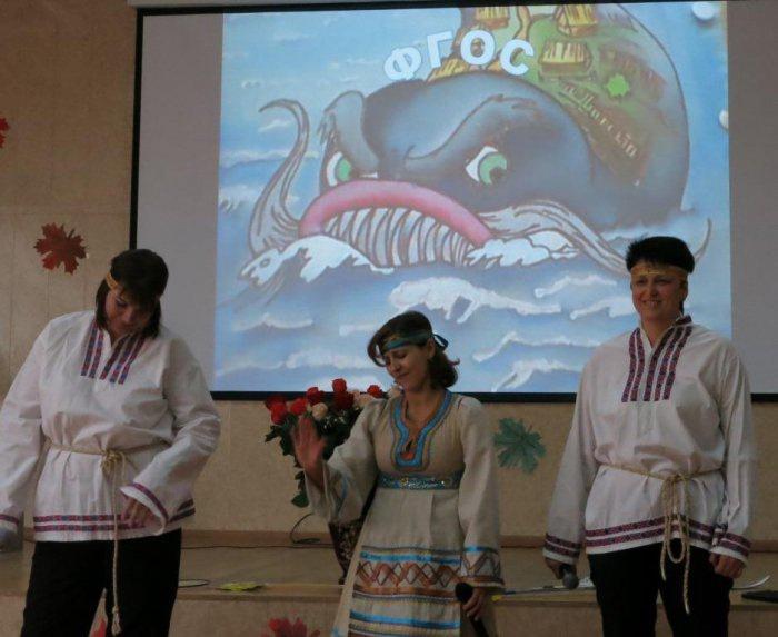 Юбилей гимназии №1 г. Серпухов (06.11.2015)