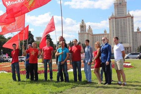 Подольские коммунисты на митинге Антикапитализм-2015