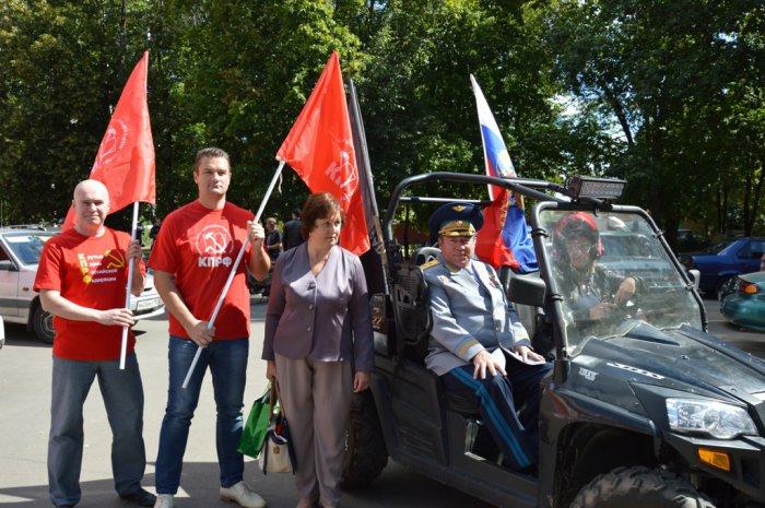 День Монино прошел под красными знаменами