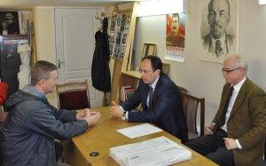 Дубна. Помощь нуждающимся - приоритет депутатской работы Виталия Фёдорова
