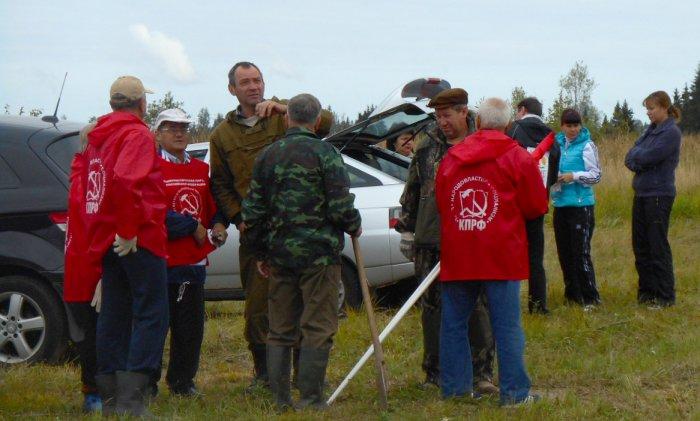 Можайские коммунисты «посадили свое дерево»