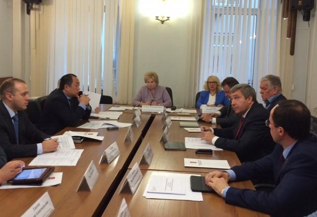 Виталий Федоров принял участие в обсуждение хода реализации государственной программы «Чистая вода»