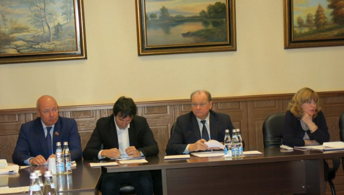 В Думе состоялось расширенное заседание  Комитета по экономике, предпринимательству и инвестиционной политике совместно с Министерством экономики Московской области