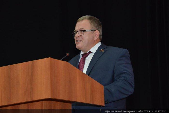 Член ЦК КПРФ А.А. Наумов рассказал о работе коммунистов Подмосковья