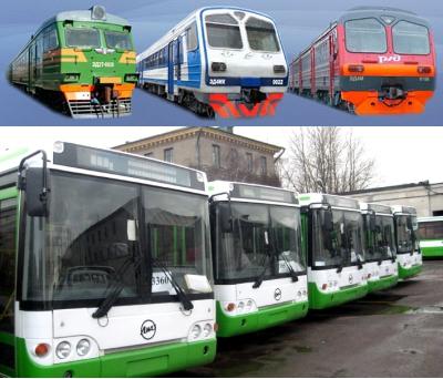 Нужны ли электрички и автобусы России?