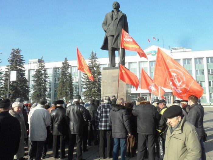 Митинг в Одинцово: «Россия – великая  страна, и  она  может  все»