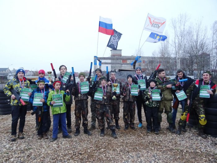 В Сергиевом Посаде прошёл чемпионат по лазертагу