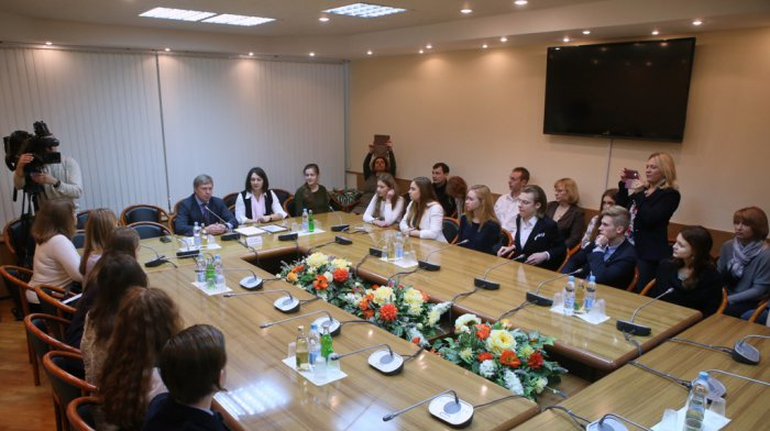 Алексей Русских: Талантливые дети – наше будущее