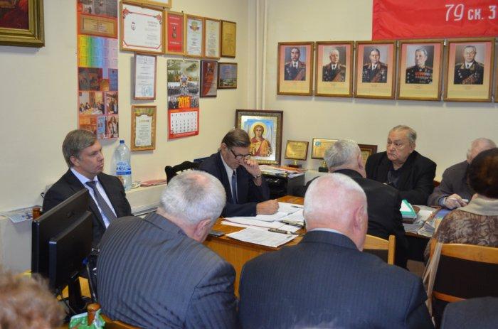 Алексей Русских встретился с коломенскими ветеранами