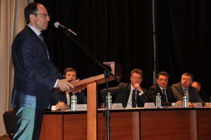 Виталий Фёдоров принял участие в конференции общественной организации «Общественный контроль в сфере строительства и ЖКХ Московской области»