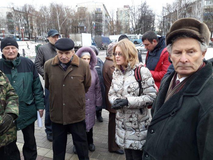 В городе Видном жители потребовали отменить антинародные законы