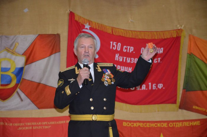«Верны отечеству, истории, народу» - Алексей Русских встретился с воспитанниками военно-патриотического клуба