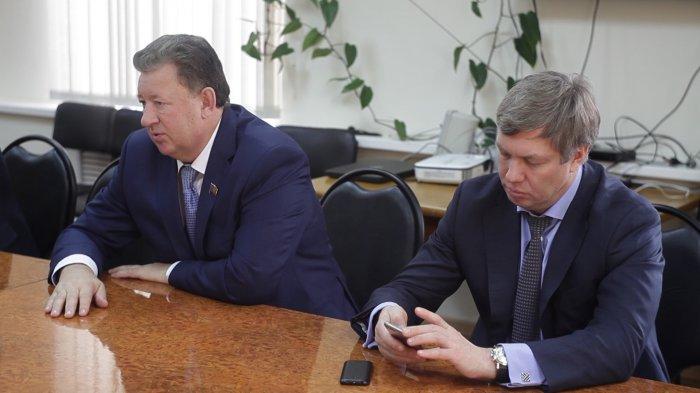 Визит В. Кашина, А. Русских, С. Сосунова в Зарайский и Луховицкий районы