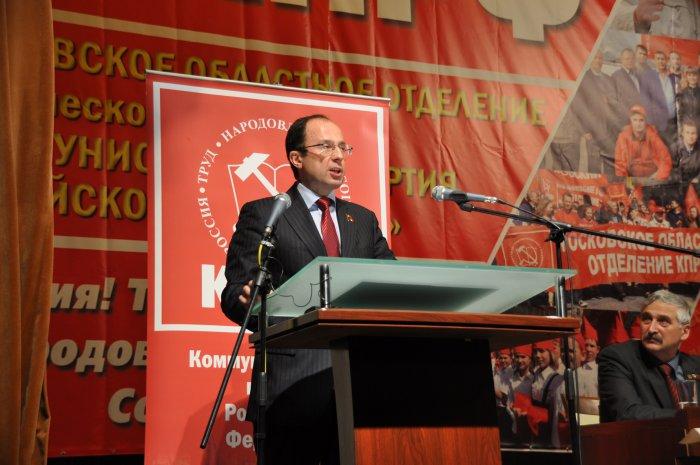 Виталий Федоров: «Мы, коммунисты, должны своей работой постоянно доказывать способность брать власть»