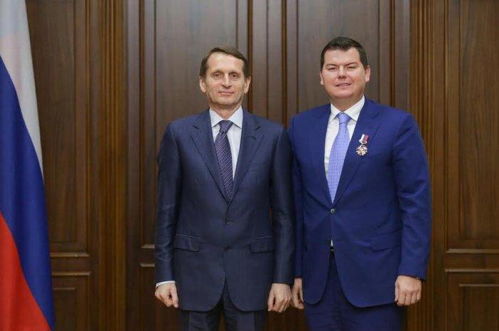 Депутат-коммунист Михаил Авдеев награжден Почетным знаком Государственной Думы