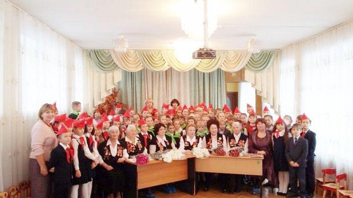 Встреча подольских школьников с Ветеранами педагогического труда города Подольска