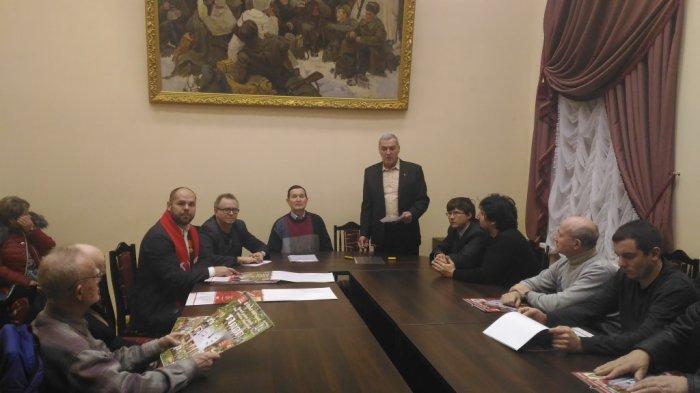 Предновогодние партийные будни Сергиево-Посадского РК КПРФ