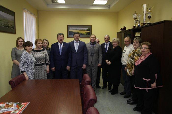 Рабочий визит зампреда ЦК КПРФ В.И. Кашина в городские округа Озёры и Кашира