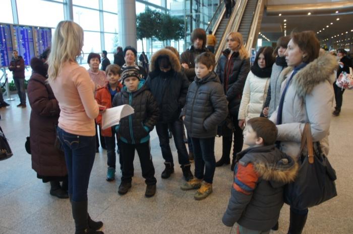 Новогодняя сказка для детей Климовского детского дома