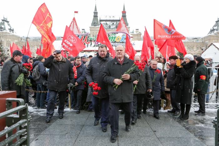 Г.А. Зюганов: «Учиться у Ленина и Сталина!»