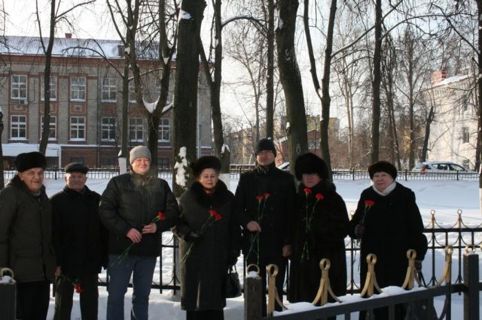 Раменские коммунисты почтили память В.И. Ленина