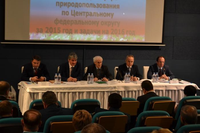 Виталий Фёдоров принял участие в подведении итогов деятельности  территориальных органов Росприроднадзора по ЦФО за 2015 год
