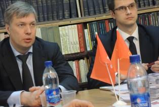 Алексей Русских встретился с депутатами-коммунистами г. Коломны и Коломенского района