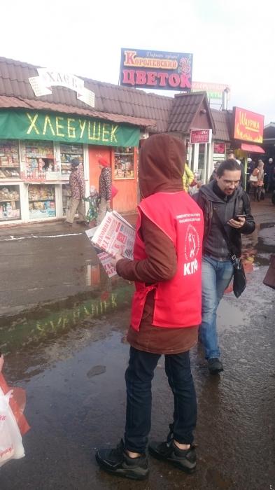 В Королёве прошли массовые пикеты в поддержку Всероссийской акции протеста