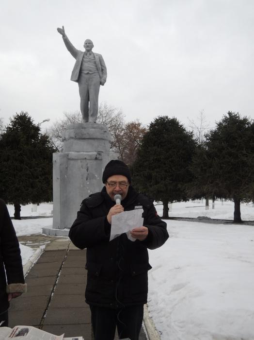 Коломна: Митинг протеста против социальной политики правительства Д.Медведева