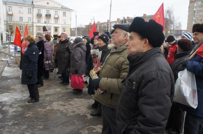 Подольск и Климовск за смену социально-экономического курса властей