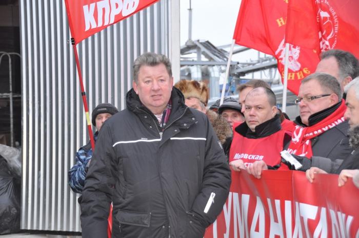 Интервью Владимира Кашина на отправке Юбилейного 50-го гуманитарного конвоя