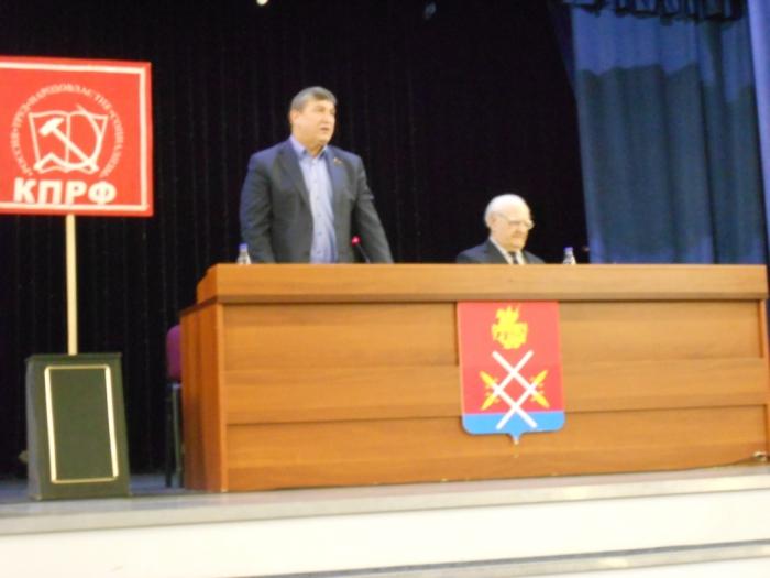 Константин Черемисов встретился с жителями Рузы