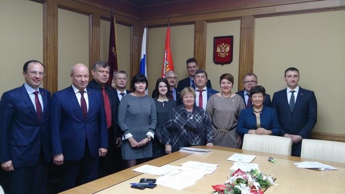 Константин Черемисов встретился с делегацией парламентариев ДНР