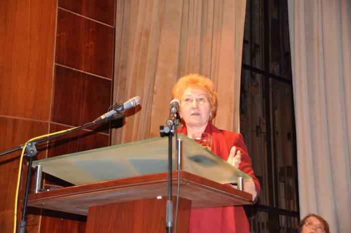 Выступление Нины Веселовой на Конференции трудовых коллективов, 21.02.2016