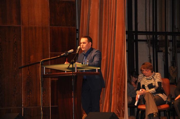 Выступление Максима Балашова на Конференции трудовых коллективов, 21.02.2016